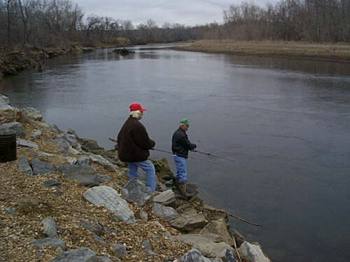 Retirement for Illinois river fishing